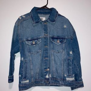 RSQ Collective distressed jean jacket